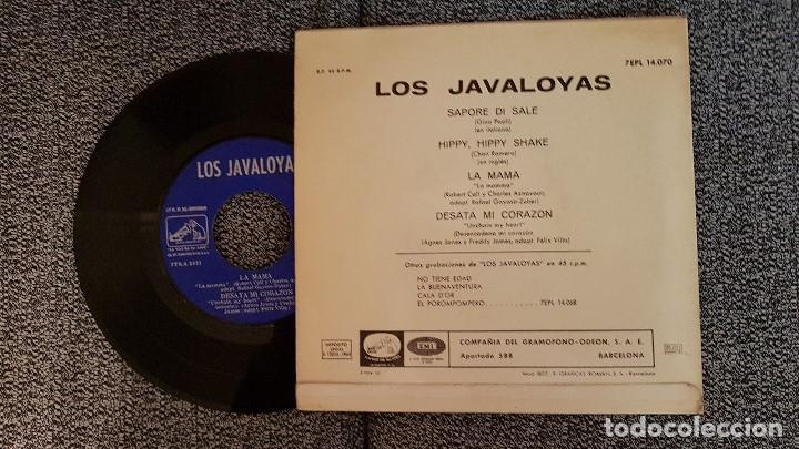 Discos de vinilo: Los Javaloyas. EP. Sapore di sale. Editado por Emi. año. 1964. 7EPL 14.070 - Foto 2 - 184286550