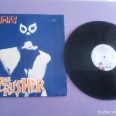 Discos de vinilo: JOYA MAXI PUNK.THE CRAMPS - THE CRUSHER - SELLO IRS PSFX 1008. UK. AÓ 1981.. Lote 184288310
