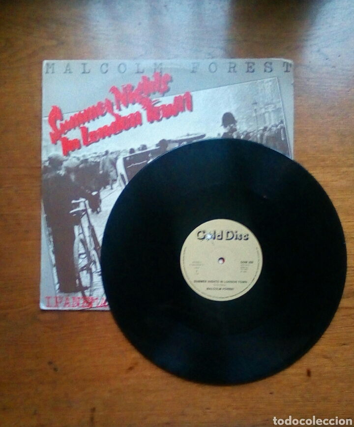 Discos de vinilo: Malcolm Forest - Summer nights in London town, Gold Disc, 1980. Finland. - Foto 3 - 184288623