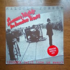 Discos de vinilo: MALCOLM FOREST - SUMMER NIGHTS IN LONDON TOWN, GOLD DISC, 1980. FINLAND.. Lote 184288623