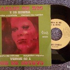 Discos de vinilo: CARLOS DE ROS Y SU RUMBA - TIEMPO DE RUMBA. AÑO. 1973. EDITADO POR VICTORIA.. Lote 184291750