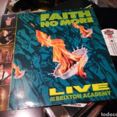 Discos de vinilo: FAITH NO MORE LP LIVE AT THE BRIXTON ACADEMY HOLANDA 1990. Lote 184291897