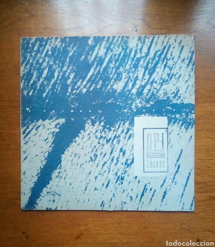 A.P.I. - 7 HERTZ, SWEATBOX RECORDS, 1985. (Música - Discos de Vinilo - Maxi Singles - Electrónica, Avantgarde y Experimental)