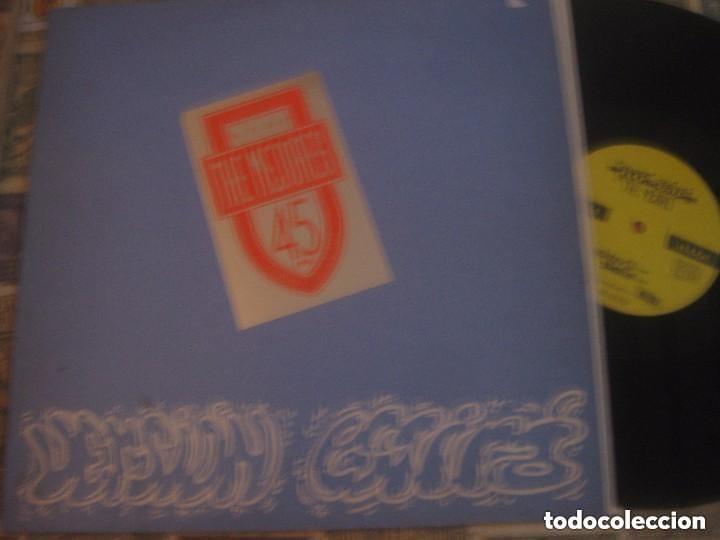 THE MEJORES, RIP RAP, ROCK RAP ASTURIANO, + ENCARTE DRUM MERS OVIEDO, 12 PULGADAS RARO (Música - Discos de Vinilo - Maxi Singles - Grupos Españoles de los 70 y 80)