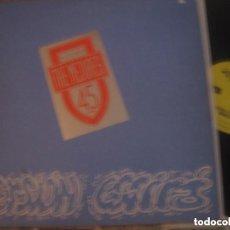 Discos de vinilo: THE MEJORES, RIP RAP, ROCK RAP ASTURIANO, + ENCARTE DRUM MERS OVIEDO, 12 PULGADAS RARO. Lote 184297892