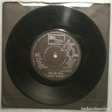 Discos de vinilo: MICHAEL JACKSON. ONE DAY IN YOUR LIFE/ TAKE ME BACK. TALMA MOTOWN, UK 1975 SINGLE. Lote 184300538