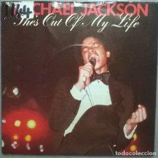 Discos de vinilo: MICHAEL JACKSON. SHE'S OUT OF MY LIFE/ PUSH ME AWAY. EPIC, UK 1979 SINGLE. Lote 184301357
