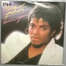 Discos de vinilo: MICHAEL JACKSON. BILLIE JEAN/ IT'S THE FALLING IN LOVE. EPIC, UK1982 SINGLE. Lote 184301932