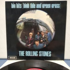 Discos de vinilo: THE ROLLING STONES - BIG HITS ( HIGH TIDE AND GREEN GRASS ) 1973 ( 1966 ) ED ALEMANA GATEFOLD. Lote 184307351