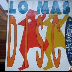 Discos de vinilo: LO MAS DISCO.LP DOBLE. ARIOLA. ESPAÑA 1990. Lote 184308636