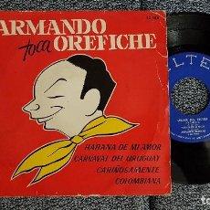 Discos de vinilo: ARMANDO OREFICHE- EP. HABANA DE MI AMOR. AÑO 1.962. EDITADO POR BELTER . Lote 184313836