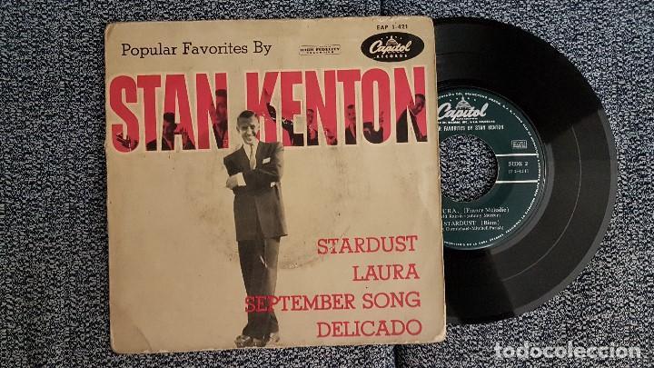 STAN KENTON - EP. STARDUST. AÑO 1.958. EDITADO POR CAPITOL (Música - Discos de Vinilo - EPs - Jazz, Jazz-Rock, Blues y R&B)