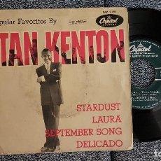 Discos de vinilo: STAN KENTON - EP. STARDUST. AÑO 1.958. EDITADO POR CAPITOL. Lote 184314268