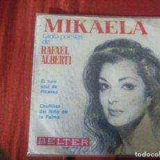 Discos de vinilo: MIKAELA EL TORO AZUL DE PICASSO. Lote 184314502