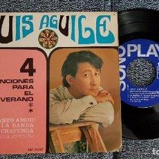 Discos de vinilo: LUIS AGUILE - EP. 4 CANCIONES PARA EL VERANO. AÑO 1.967. EDITADO POR SONOPLAY. Lote 184314871