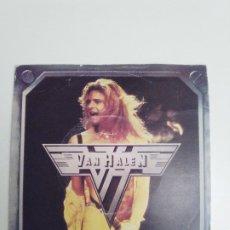 Discos de vinilo: VAN HALEN RUNNING WITH THE DEVIL / DOA ( 1980 WEA UK ). Lote 184320596