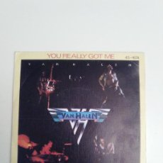 Disques de vinyle: VAN HALEN YOU REALLY GOT ME / ATOMIC PUNK ( 1978 WARNER HISPAVOX ESPAÑA ). Lote 184320686