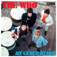 Discos de vinilo: MY GENERATION - THE WHO - VINILO. Lote 184323512