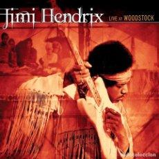 Discos de vinilo: LIVE AT WOODSTOCK - JIMI HENDRIX - VINILO. Lote 184323706