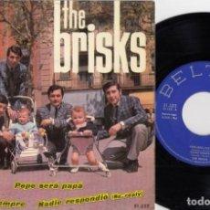 Discos de vinilo: LOS BRISKS - PEPE SERA PAPA - EP DE VINILO . Lote 184350321