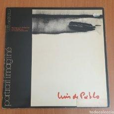 Discos de vinilo: LP LUIS DE PABLO & GRUPO KOAN - PORTRAIT IMAGINE (RCA, 1980). Lote 184351165