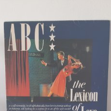 Discos de vinilo: ABC. THE LEXICON OF LOVE. ESPAÑA . MERCURY. CARPETA VG. DISCO VG+.. Lote 184351876