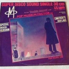 Disques de vinyle: M - POP MUZIK / M FACTOR (SPECIAL DISCO-VERSION) - 1979. Lote 184354648