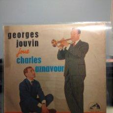 Discos de vinilo: DISCO LP 10 PULGADAS GEORGES JOUVIN JOUE CHARLES AZNAVOUR . Lote 184354825