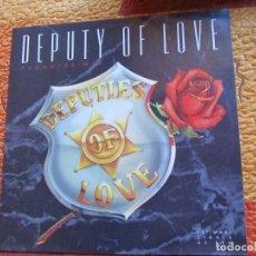 Discos de vinilo: DEPUTY OF LOVE- MAXI -SINGLE DE VINILO- TITULO PARADISE MIX- CON 2 TEMAS- NUEVO . Lote 184358722