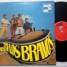 Discos de vinilo: LOS BRAVOS - THE BEST OF LOS BRAVOS - LP ALEMAN 1970 - DECCA / MUSIK FUR ALLE. Lote 184369073