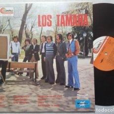 Discos de vinilo: LOS TAMARA - RARO LP EDITADO EN USA 1977 - COMPAS. Lote 184370630
