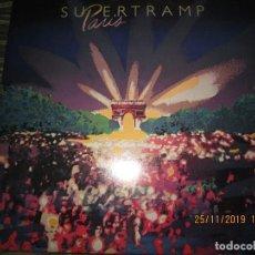 Discos de vinilo: SUPERTRAMP - PARIS DOBLE LP - ORIGINAL U.S.A. A&M RECORDS 1980 FUNDA INT. ORIGINALES GATEFOLD COVER. Lote 184371215