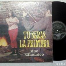 Discos de vinilo: DUO DINAMICO - TU SERAS LA PRIMERA - LP PERUANO 1964 - ODEON. Lote 184372041