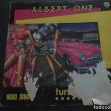 Discos de vinilo: ALBERT ONE - TURBO DIESEL . Lote 184375981