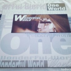Discos de vinilo: ONE WORLD - WONDERFUL WORLD. Lote 184385305
