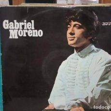 Discos de vinilo: GABRIEL MORENO -LP. Lote 184385848