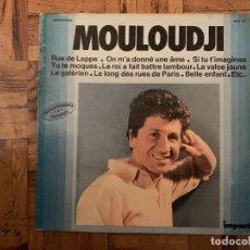Discos de vinilo: MOULOUDJI – MOULOUDJI SELLO: IMPACT (2) – 6886 105 SERIE: ENREGISTREMENTS ORIGINAUX – FORMATO: VI. Lote 184389993