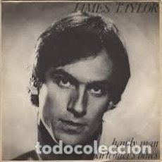 Discos de vinilo: JAMES TAYLOR ‎– HANDY MAN / BARTENDER'S BLUES. Lote 184392848