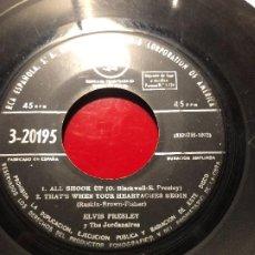 Discos de vinilo: ELVIS PRESLEY – JAILHOUSE ROCK. Lote 184393641