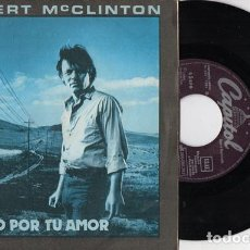 Discos de vinilo: DELBERT MCCLINTON – GIVING IT UP FOR LOVE / MY SWEET BABY. Lote 184394121