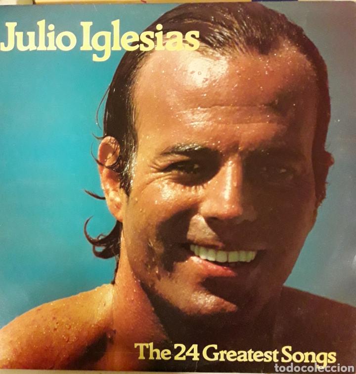 LP DISCO VINILO JULIO IGLESIAS DOBLE (Música - Discos - LP Vinilo - Solistas Españoles de los 70 a la actualidad)