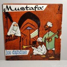 Discos de vinil: MUSTAFA - LOS DANDIES - SINGLE ZAFIRO. Lote 184402587