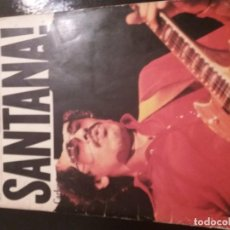 Discos de vinilo: REVISTA CON PARTITURA DE SANTANA WORDS MUSIC. Lote 184404208