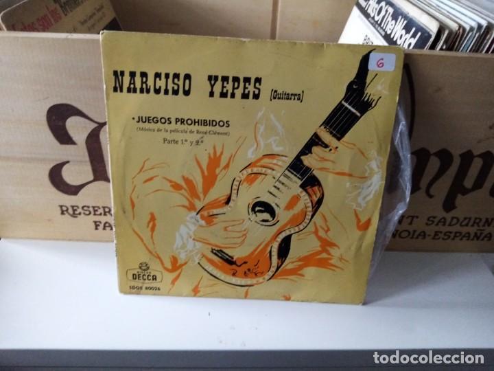 NARCISO YEPES (Música - Discos de Vinilo - EPs - Otros estilos)