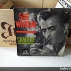 Discos de vinilo: SAG WARUM CAMILLO. Lote 184418230