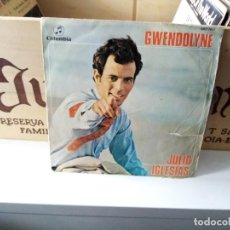 Discos de vinilo: JULIO IGLESIAS GWENDOLYNE. Lote 184418538
