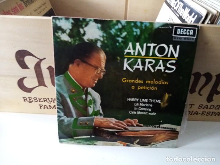 ANTON KARAS (Música - Discos de Vinilo - EPs - Otros estilos)