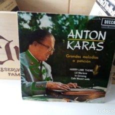 Discos de vinilo: ANTON KARAS. Lote 184418591