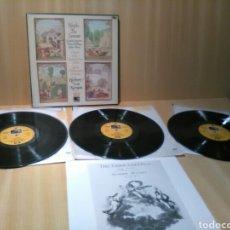 Discos de vinilo: HAYDN, LAS ESTACIONES, KARAJAN, JANOWITZ, HOLLWEG, BERRY, FILARMÓNICA BERLIN.. Lote 184424791