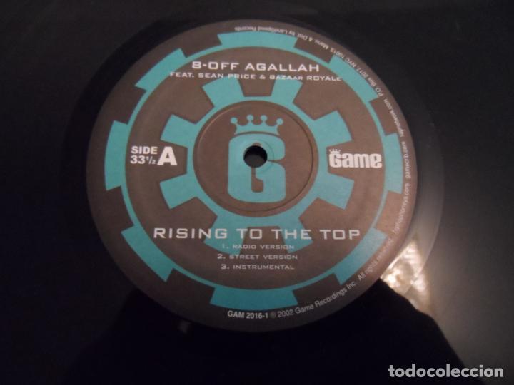 Discos de vinilo: 8-Off Agallah / Royce Da 59 – Rising To The Top / Spit Game (GRAND THEFT AUTO III OST) - Foto 3 - 184425431